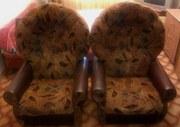 Диван раскладной и 2 кресла,  состояние отличное,  недорого
